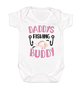 edc0a59a Amazon.com: Dad's Fishing Buddy Baby Boy Fishing Shirt Daddy and Me Boys  Summer Shirt I Love Daddy Shirt Father's Day Baby Boy Top Girl: Clothing