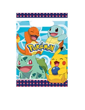 COOLMP - Lote de 12 Bolsas de Regalo de plástico Pokémon ...