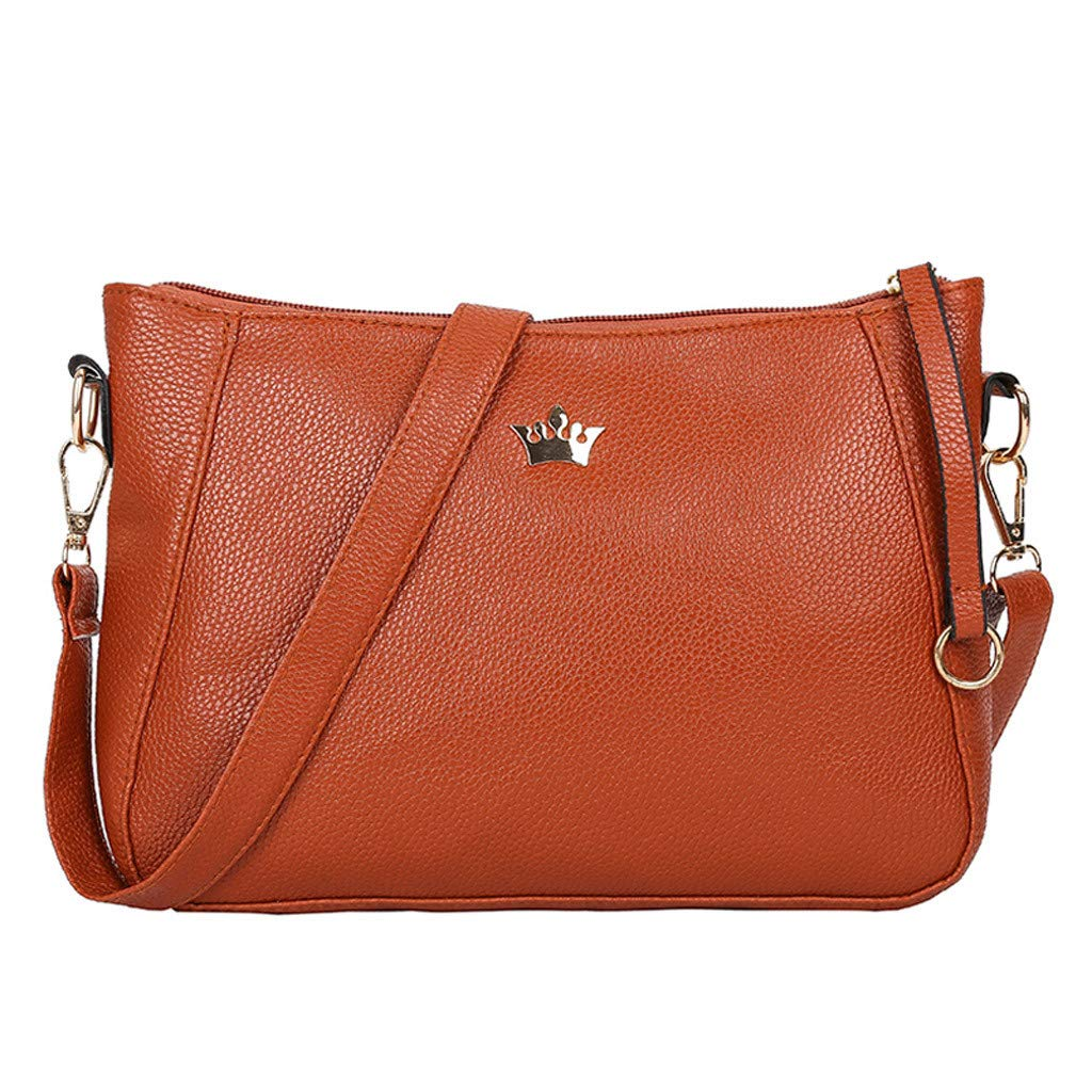 TIFENNY Fashion Shell Bags For Women Girls Zipper Solid Color Shoulder Bags Messenger Bag Crossbody bag Phone Bag