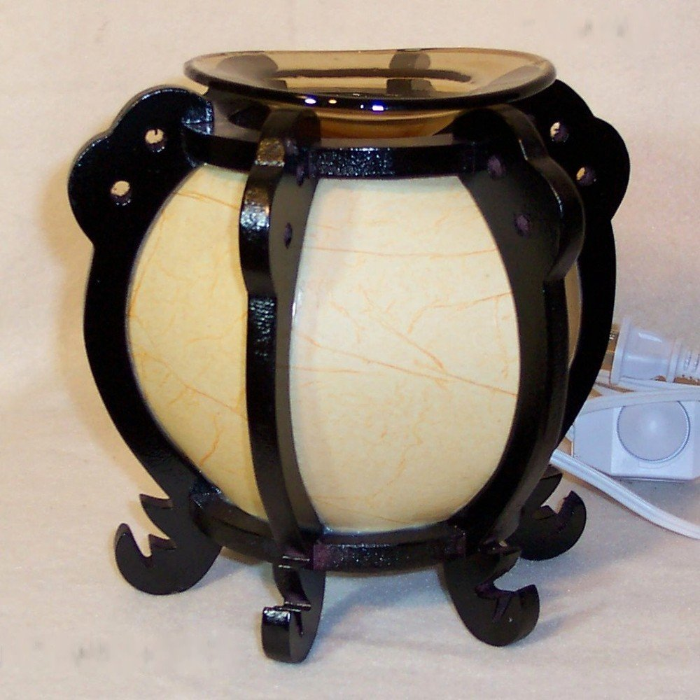 Old Fashioned Looking Round Electric Oil Warmer
