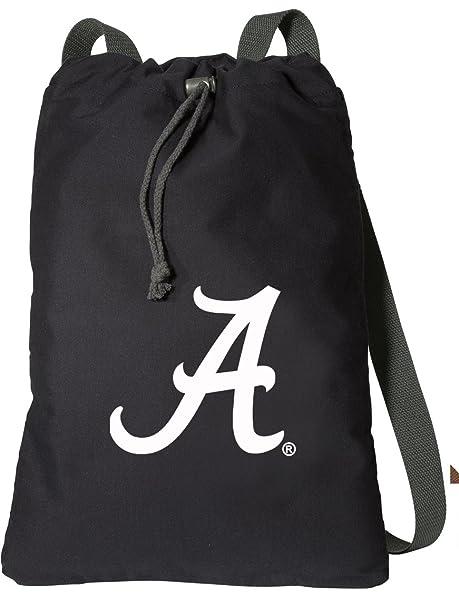 Amazon.com   Broad Bay UA University of Alabama Drawstring Backpack ... 8d3a67310da63