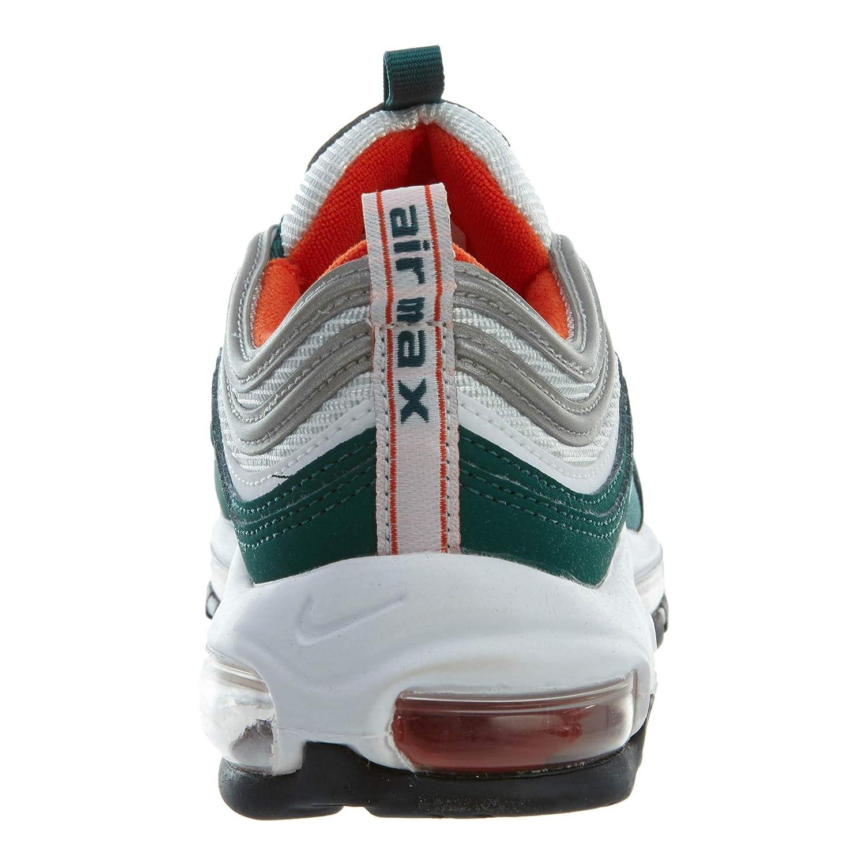 Nike Air Max 97 (GS), Scarpe Running Uomo, Multicolore (RainforestWhite Team Orange Black 300), 38.5 EU