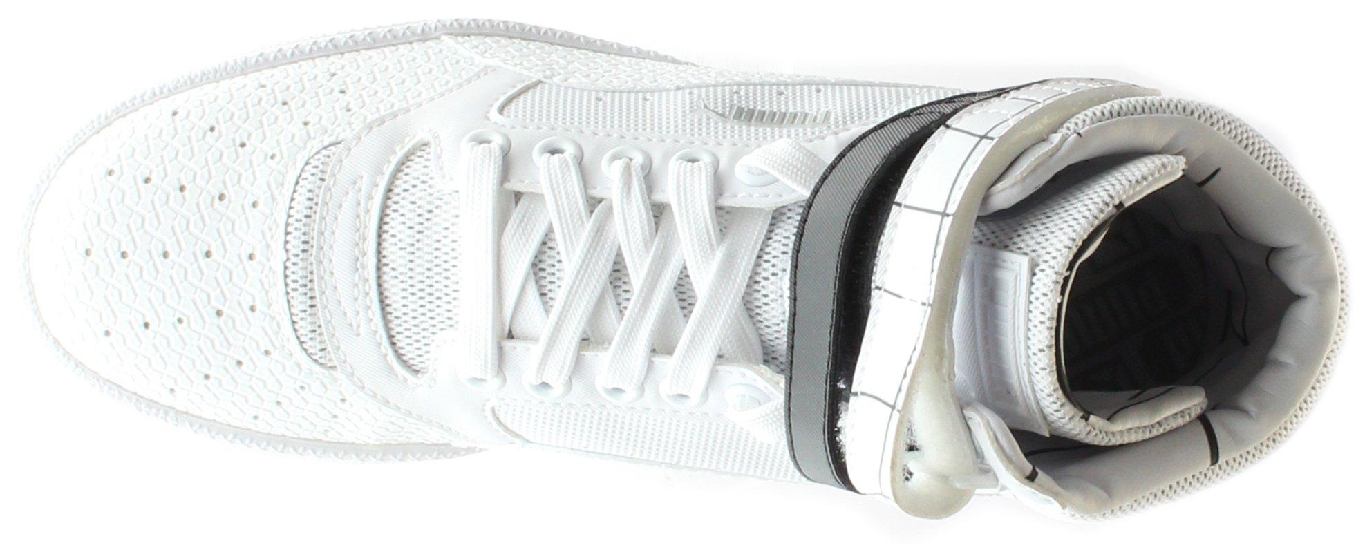 PUMA Women's Sky Ii Hi Sf Texture WN's Basketball Shoe, White Black, 8.5 M US by PUMA (Image #6)