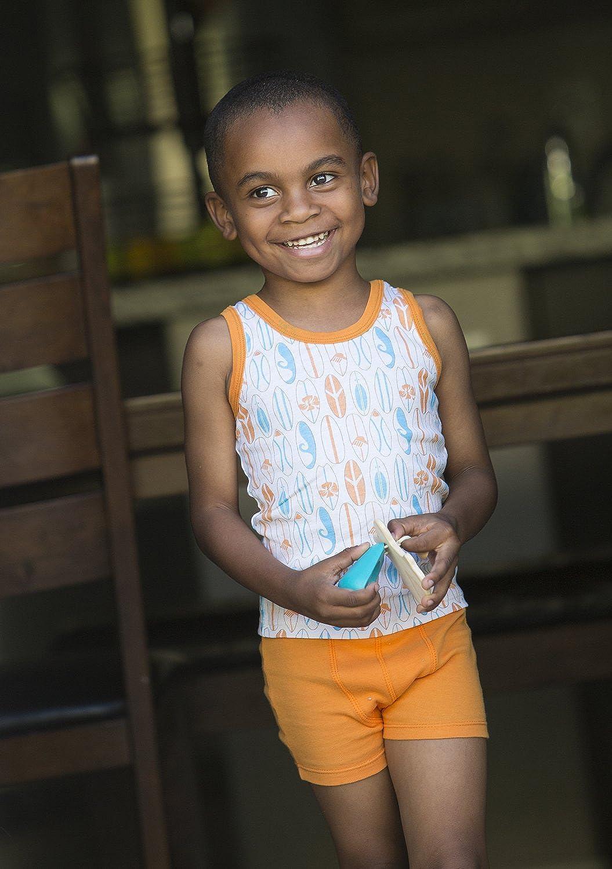 GroVia Unders 2 Pack 100/% Cotton Childrens Unisex Tank Tops