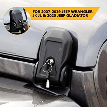 2020 Jeep Gladiator Hood Locks