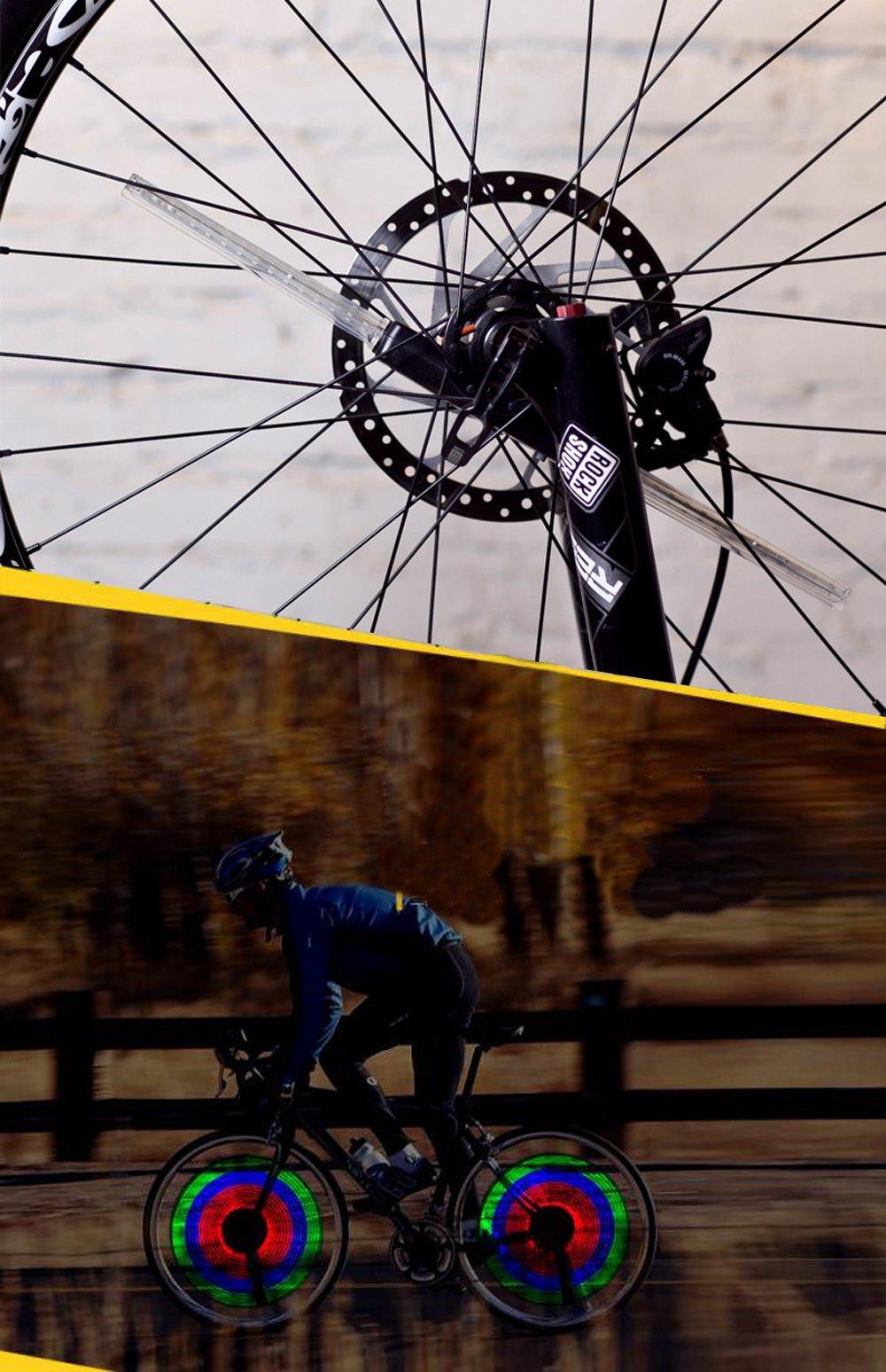 Bicycle//Mountain//Road Bike Wheel Light DIY Program Embedded Processor 64 LEDS