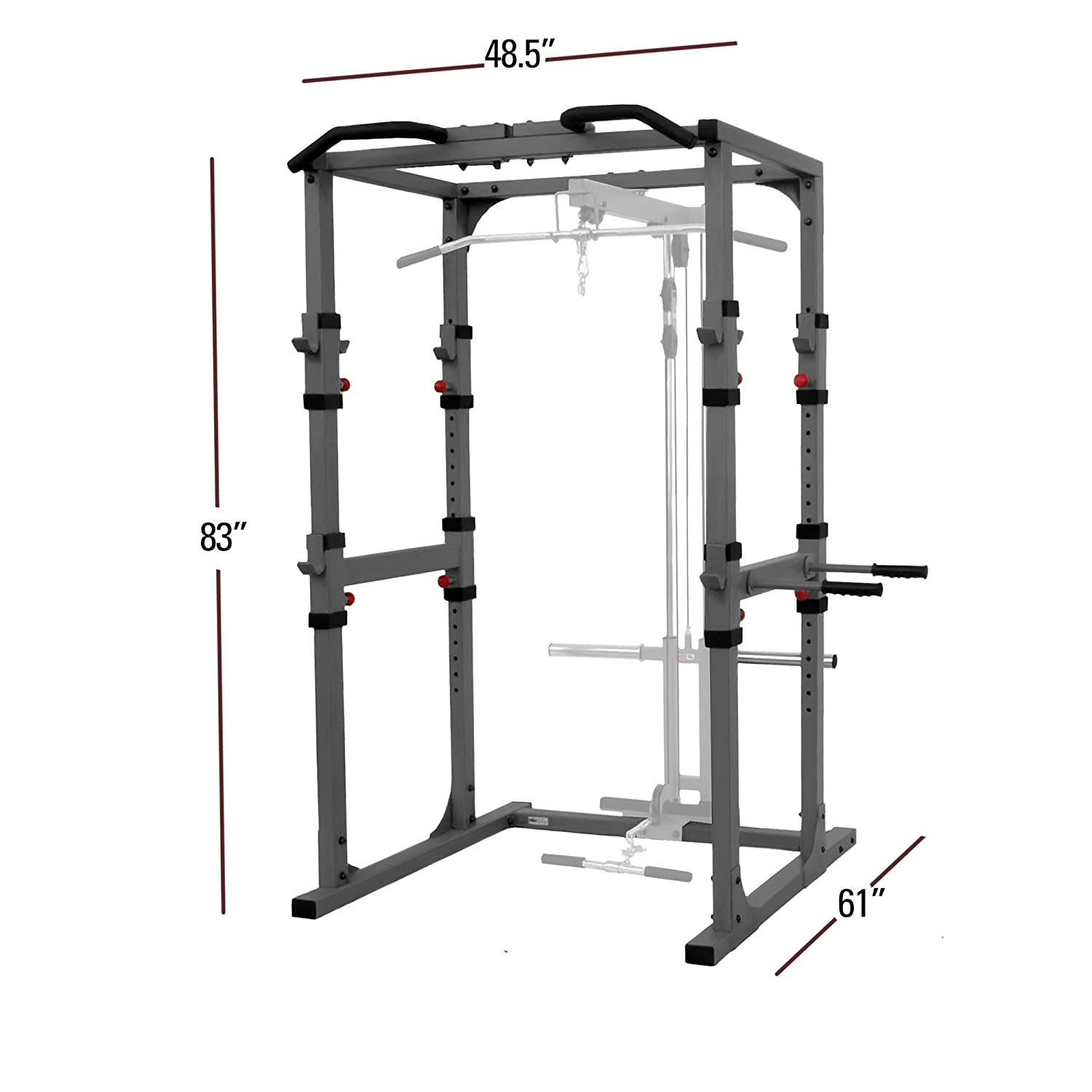 Amazon XMark Fitness XM Power Cage Sports Outdoors