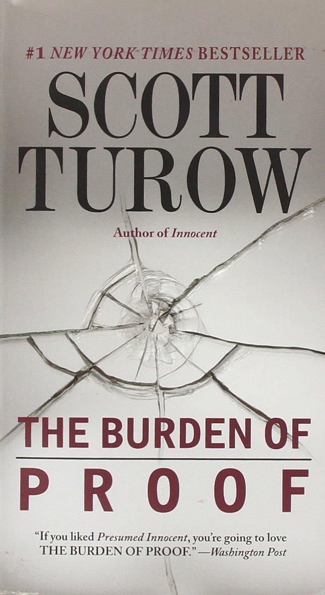 the burden of proof scott turow 9780446584173 amazoncom books - Presumed Innocent Book