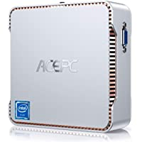 ACEPC Mini PC, 8 GB DDR4 / 128 GB ROM, Intel Celeron J4125 Windows 10 Pro Mini computadora, WiFi de Banda Dual 2.4 G / 5…
