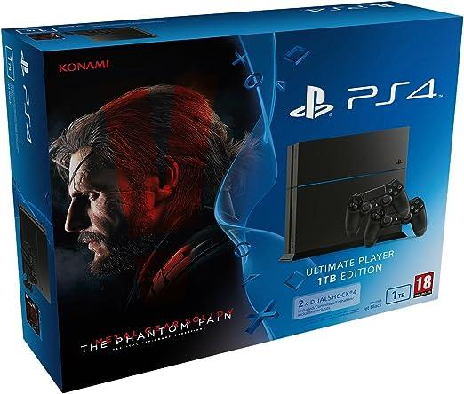 PlayStation 4 - Bundle Consola 1 TB + MGS V: TPP + 2 Mandos ...