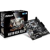 Asrock 90-MXB1J0-A0UAYZ - Placa Base (H81m-Vg4 R3.0, 1150, H81, 2ddr3, 16gb, VGA, 2sata3, 2usb3, Gblan, Matx)