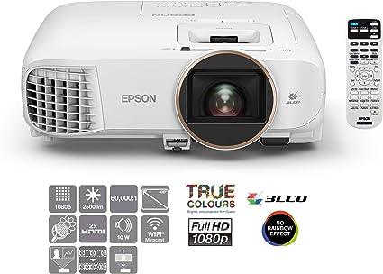 Opinión sobre Epson Home Cinema EH-TW5650 Video - Proyector (2500 lúmenes ANSI, 3LCD, 1080p (1920x1080), 60000:1, 16:9, 2,35 - 3,82 m)