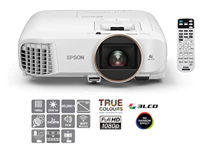 Epson Home Cinema EH-TW5650 Video - Proyector (2500 lúmenes ANSI, 3LCD, 1080p (1920x1080), 60000:1, 16:9, 2,35 - 3,82 m)