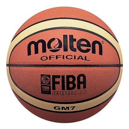 MOLTEN BGM5 School - Balón de Baloncesto (tamaño 5, Color Naranja ...