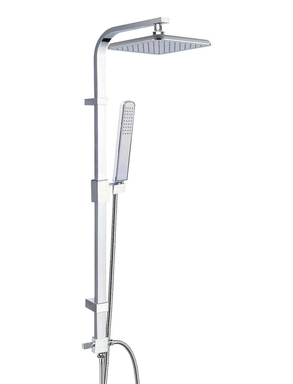 Chrom variable Wandhalterung modernes Design Eisl Duschs/äule Stella DX1000CACS zwei Strahlvarianten