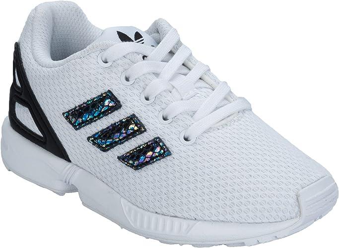 adidas Originals - Zapatillas de Tela para niña Blanco Blanco ...