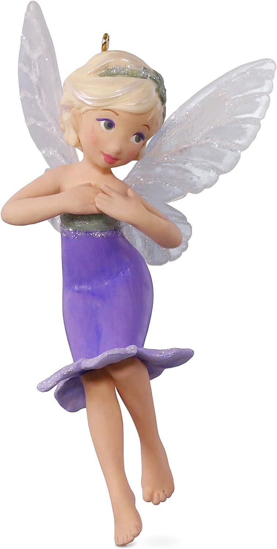 Hallmark Keepsake 2017 Lavender Fairy Messengers Christmas Ornament