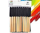 PANCLUB Paint Foam Brush Value Pack 2 Inch - 20