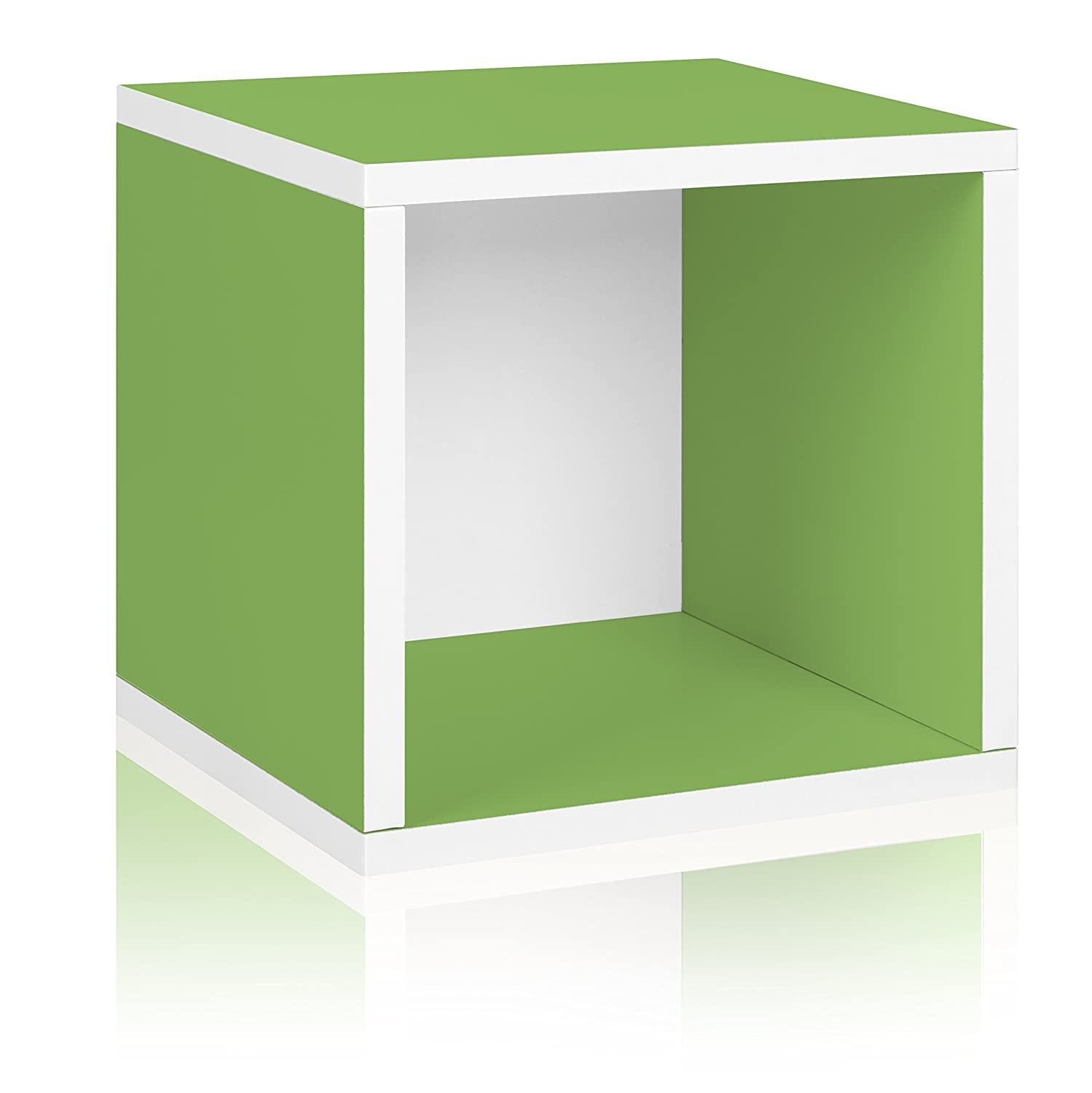 stacking cubes furniture. Way Basics BS-285-340-320-GN Eco Stackable Storage Cube And Cubby Organizer, Green: Amazon.ca: Home \u0026 Kitchen Stacking Cubes Furniture