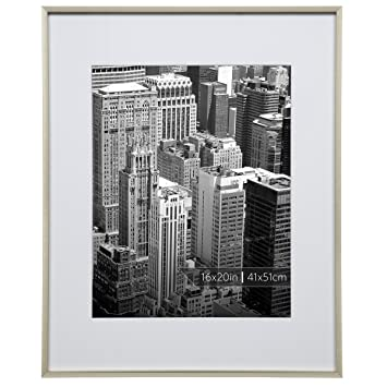 Amazoncom Burnes Of Boston 16x20 Aluminum Gallery Polished Gold