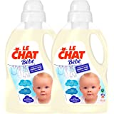 Le Chat Baby Liquid Laundry Detergent 1.5Litre/25Washes (Pack of 2