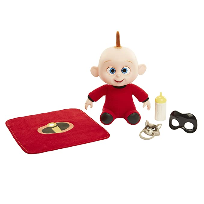 Amazon.com: Disney Pixar The Incredibles 2 Baby Jack-Jack Gift Set figure: Toys & Games