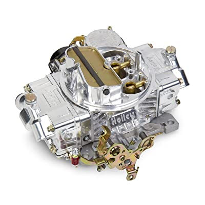 Holley 0-80458SA Polished Aluminum Universal Street/Strip Carburetor: Automotive