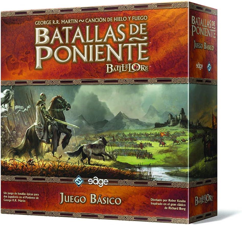 Edge Entertainment- Batallas De Poniente - Español (Fantasy Flight Games EDGBW01): Aavv: Amazon.es: Juguetes y juegos