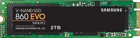 Samsung MZ-N6E2T0BW 860 EVO M.2 - Disco estado solido SSD, 550 ...