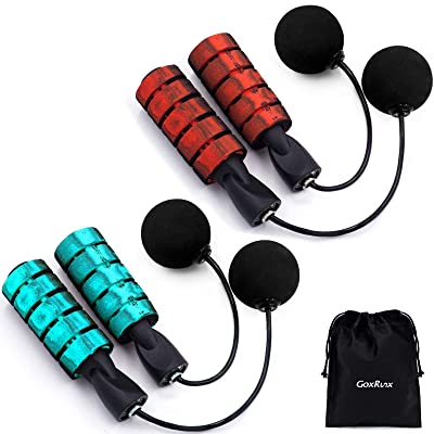 Weighted Bodybuilding Exercise Ropeless Cordless Skipping Jump Rope Adjustable