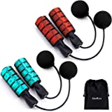 Ropeless Jump Rope, Weighted Cordless Jump Rope for Fitness Workout, Adjustable Skipping Rope Jumping Rope for Women Men and