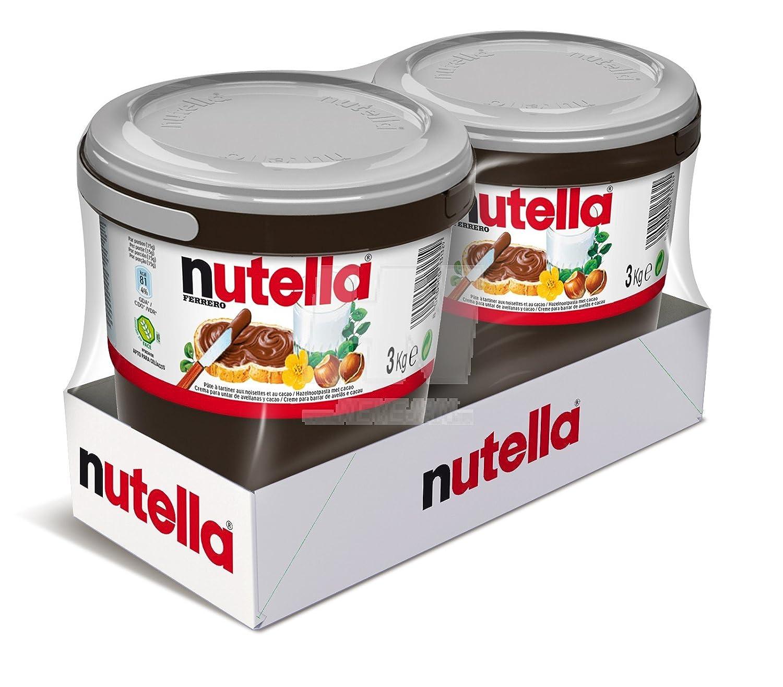 nutella 3 kg xl jar amazon co uk grocery