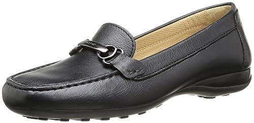 Geox Donna Euxo, Mocasines para Mujer, Negro (Black C9999), 35 EU: Amazon.es: Zapatos y complementos