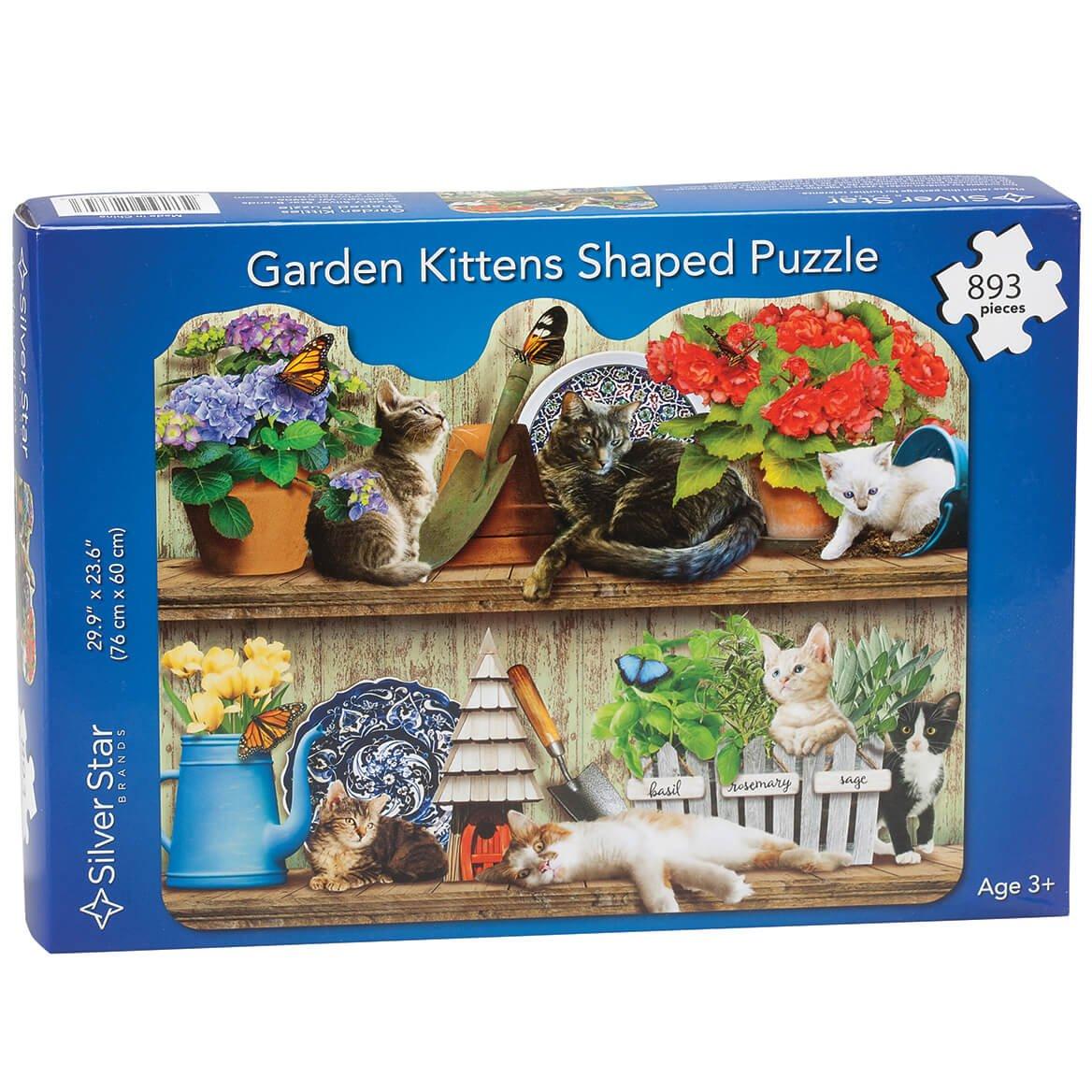 絶妙なデザイン Garden Kittens Puzzle 893 Kittens B07BQFXH22 Pieces 893 B07BQFXH22, トレハン:455e36d4 --- a0267596.xsph.ru