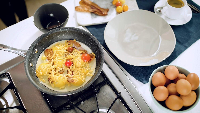 GRANITEROCK 10 Piece Cookware Set PFOA-Free As Seen On TV Emson Scratch-Proof Nonstick Granite-coated