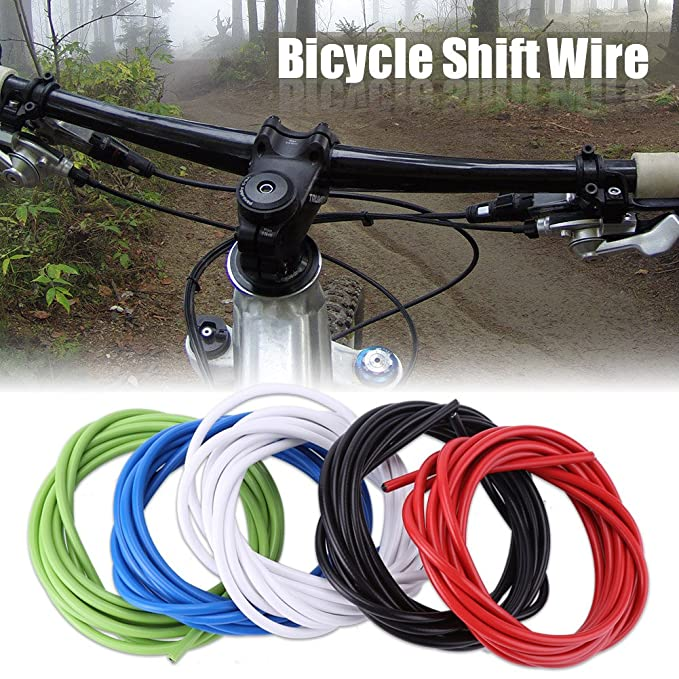 Tbest Cable de Cambio de Freno de Bicicleta 2M Kit de Manguera de Caja de Cable de Cambio de Freno de Bicicleta Accesorio para Bicicleta de Monta/ña MTB
