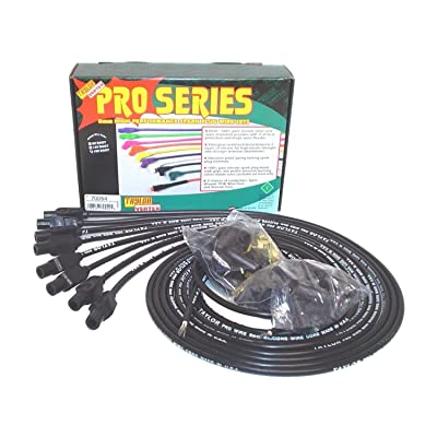 Taylor Cable 70054 8mm Pro Wire Black Spark Plug Wire Set: Automotive