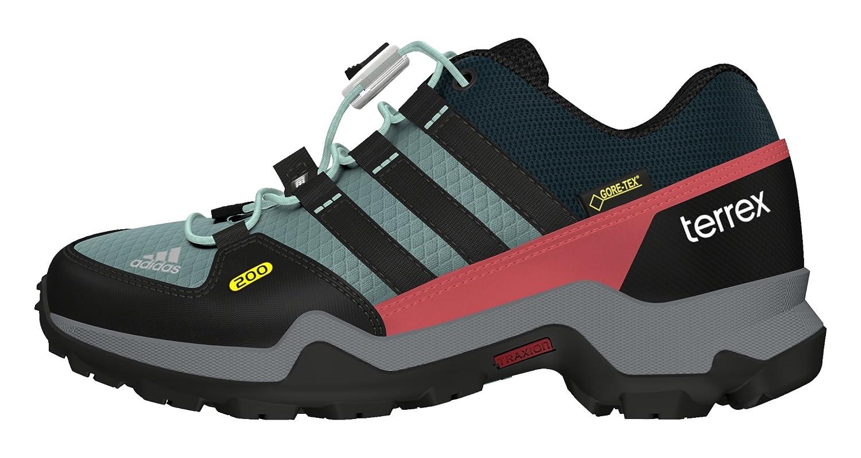 MultiCouleure - Noir Vert (Acevap Negbas Vertec) 32 EU adidas Terrex GTX K, Chaussures de randonnée garçon