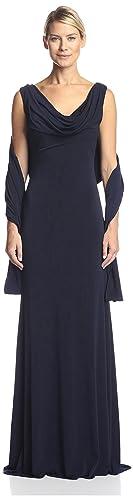 Terani Couture Women's Column Dress