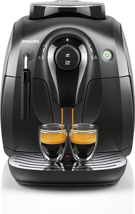 Máquina para café Saeco Xsmall Cafetera para Espresso para granos de café Capacidad la Garrafa 1 L de color negro: Amazon.es: Hogar