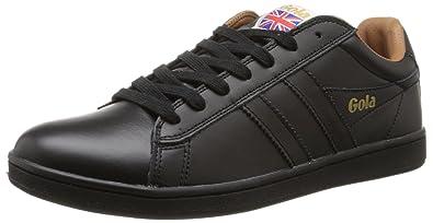 Gola Men's Equipe Mono Fashion Sneaker, Black, ...