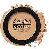 L.A. Girl Hd Pro Face Pressed Powder (Face Powder, Medium Beige, 7G