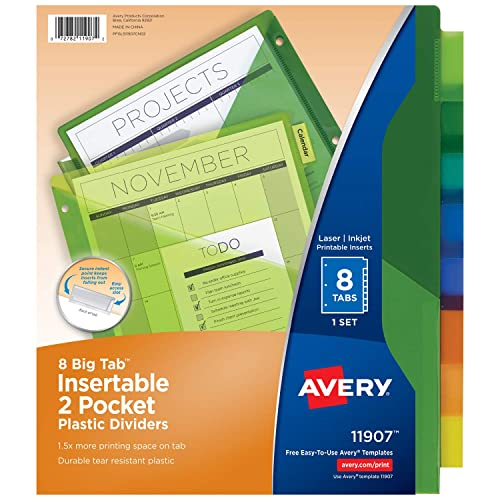 plastic pocket folders with inserts amazon com