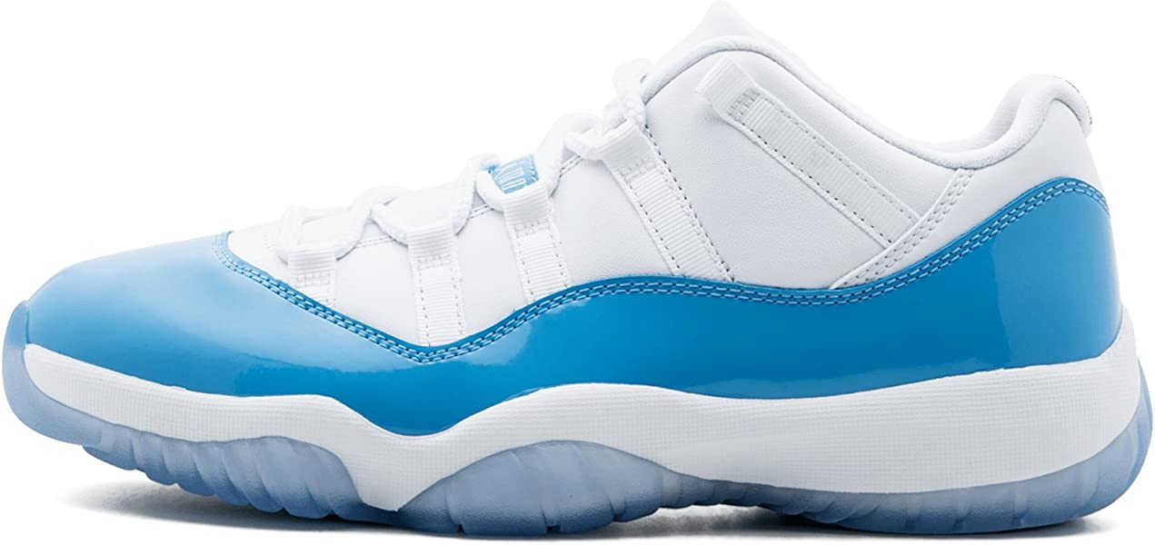 buy popular 386ee 8d1ff Men Air Jordan 11 Retro Low (White University Blue) Size 9.5 US