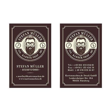 1000 X Visitenkarten Individuell Business Karten 300g Qm 85