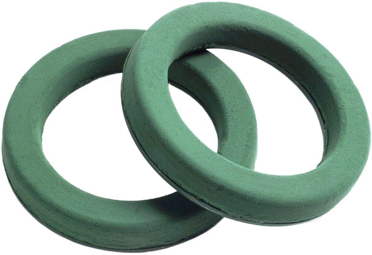 Foam Rings 8-1/2 Two (2) Per Order Maxlife Foam Rings - Green Mache-backed OASIS 45744210421