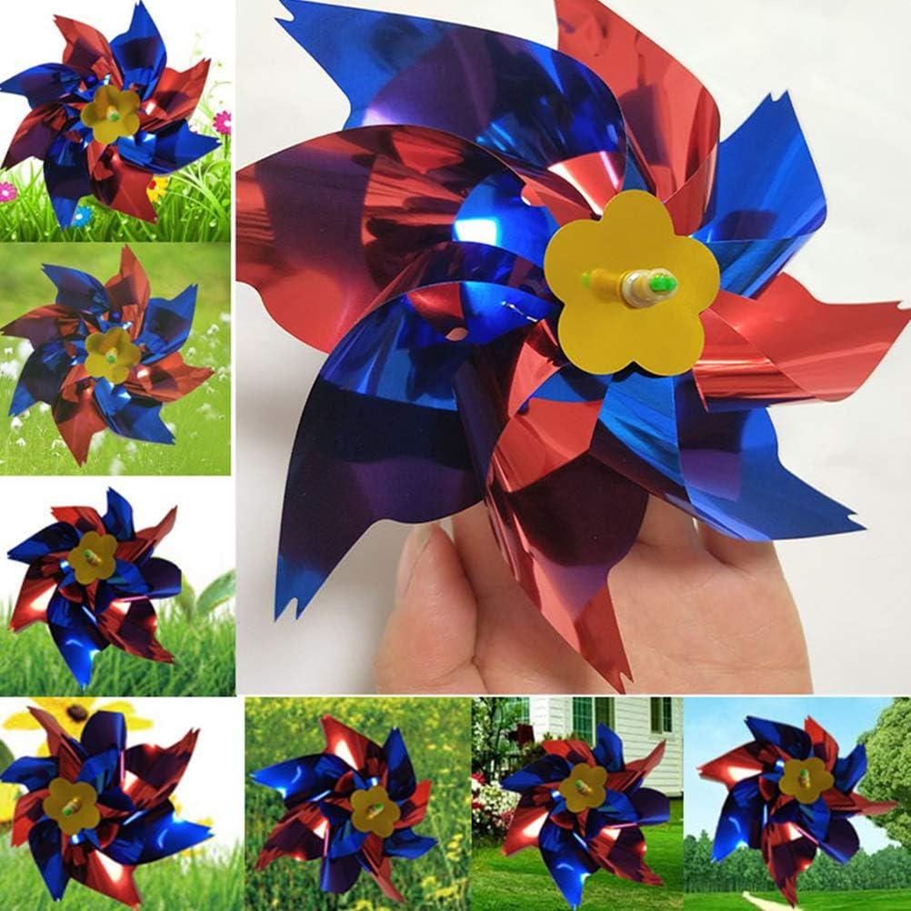 25pcs Plastique coloré Moulinet Bricolage Petit Moulin à
