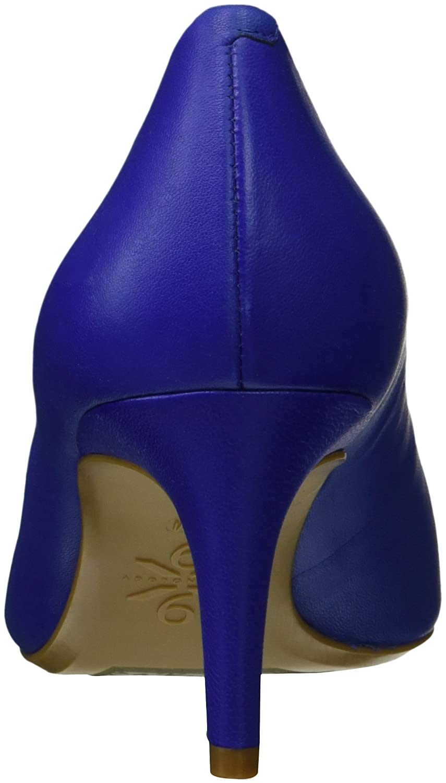 Nine Pump West Women's SOHO9X9 Leather Pump Nine B076FHTFNM 8.5 B(M) US|Blue ee5668