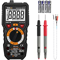 Tacklife DM01M Advanced Digital Multimeter with LCD Backlit