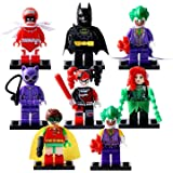 2017 Newest Comic Mini Action Figure Blocks by Generic | Batman, Joker, Harley Quinn, Catwoman (8 pc)